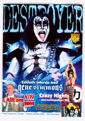KISS Magazine - Destroyer, Sweden, June 2004