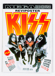 KISS Magazine - MECA Madhouse poster magazine, 1998