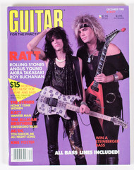 KISS Magazine - Guitar for the Practicing Musician 1985, Paul Calendar