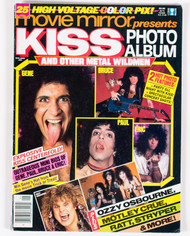 KISS Magazine - Movie Mirror Presents KISS photo Album, 1987