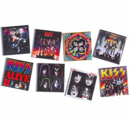 KISS Magnets - Albums Set of 8