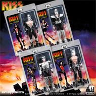 KISS Figures - Destroyer 8-inch, set of 4