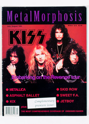 KISS Magazine - Metal Morphosis, 1992