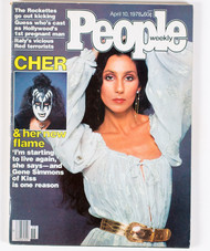 KISS Magazine - People 1978, Cher