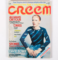KISS Magazine - Creem KISS/Bowie 1975