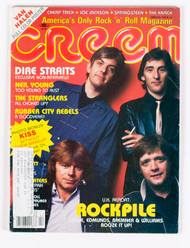 KISS Magazine - Creem KISS/The Knack 1981