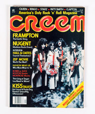 KISS Magazine - Creem KISS Christmas 1977