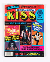 KISS Magazine - The Brand New KISS, 1980