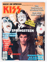 KISS Magazine - KISS Eats up Springsteen, 1979