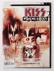 KISS Comic - Todd McFarlane Presents KISS Psycho Circus #2