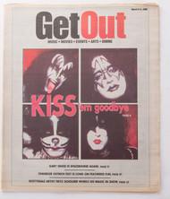 KISS Magazine - Get Out, tabloid 2000