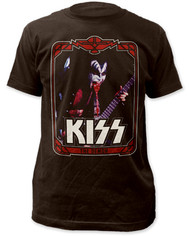 KISS T-Shirt - Gene Trading Card
