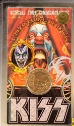 KISS Coin - Gold Plated 24 kt - Gene Simmons