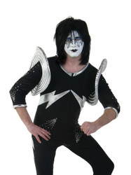 KISS Adult Costume - Ace Frehley ALIVE, (size 2XL)