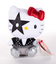 KISS Hello Kitty Figures - Ty Beanie Babies Plush,  Paul Stanley