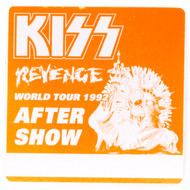 KISS Backstage Pass -  Pre-show Orange, cloth