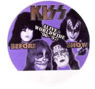 KISS Backstage Pass -  Alive/Worldwide 1996, BEFORE SHOW PURPLE