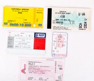 KISS Tickets - Set of FIVE European