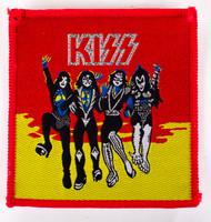 KISS Patch - Destroyer red/yellow