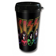 KISS Travel Mug - Icons