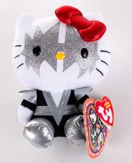 KISS Hello Kitty Figures - Ty Beanie Babies Plush,  Ace Frehley
