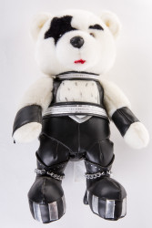 "KISS Love Gun Bear - 16"" Paul, (no box)"