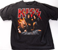 KISS T-Shirt - Revenge Skull Logo, size L, (washed and worn)