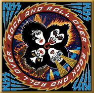 KISS Magnet - Rock and Roll Over, square