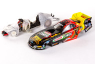 KISS Race Car - Tony Pedregon, 1/24 scale Funny Car, (red/yellow)