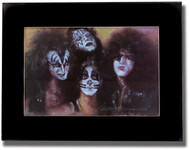 KISS Framed Artwork - Group, created  June 2001