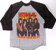 KISS T-Shirt - Lick it Up Jersey 1983, (size L)