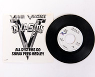 Vinnie Vincent Vinyl Record - 45 rpm All Systems Go sneak peek, promo