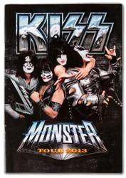 KISS Tourbook - Monster, 2013