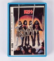 KISS Jewelry - KISS Logo Necklace 1978, silver, in plastic case