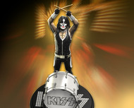 KISS Figure - Knucklebonz Rock Iconz Statue - Alive! Peter Criss