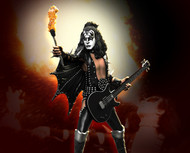 KISS Figure - Knucklebonz Rock Iconz Statue - Alive! Gene Simmons