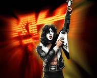 KISS Figure - Knucklebonz Rock Iconz Statue - Hotter Than Hell, Paul Stanley