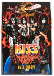 KISS Tourbook - Sonic Boom Over Europe, 2010, (GERMAN)