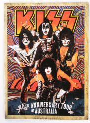 KISS Tourbook - 40th Anniversary tour of Australia