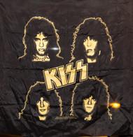 KISS Banner - Asylum Yellow