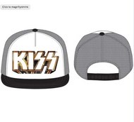KISS Cap - Metallic logo