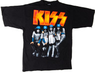 KISS T-Shirt - Dodger Stadium Psycho Circus, (size L)