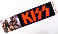 KISS Sticker - Bumper Sicker, Animalize Red logo