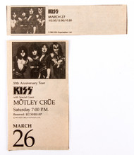 KISS Newspaper Clipping - Creatures ad Universal Theater, Los Angeles, 1983