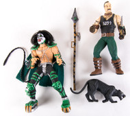 KISS McFarlane Figure - Peter Criss Psycho Circus with lion trainer, (no box)