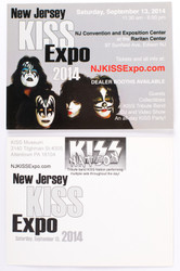 KISS Postcard - NJ KISS Expo