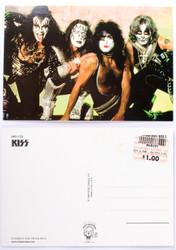 KISS Postcard - Reunion Crouching