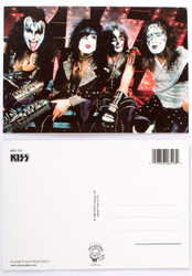 KISS Postcard -Reunion Logo on Stage