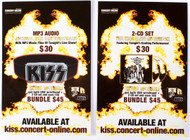 KISS Postcard - MP3/CD Live