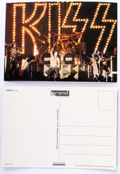 KISS Postcard - KISS Unmasked Live